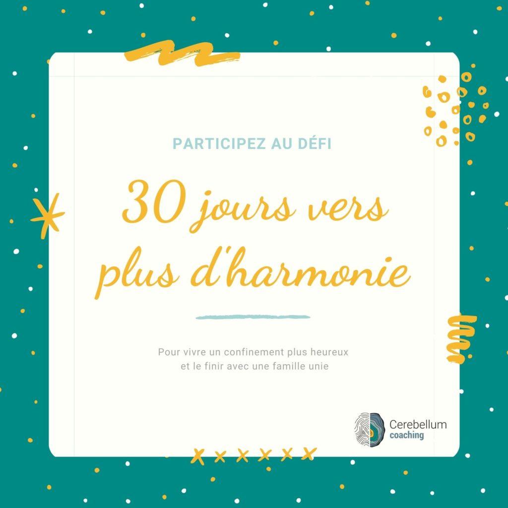 Carte montrant le défi vers plus d'harmonie